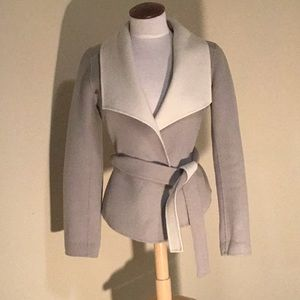 Banana Republic double-faced belted coat